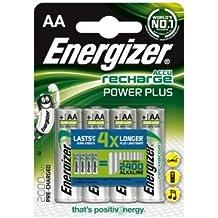 Batería: AA: recargables Energizer Accu 2000mAh (4baterías)