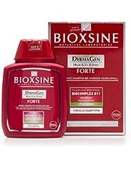 Forte Shampoo bei starkem Haarausfall- für Frau und Mann | mit pflanzlichem Haarwaschmittel das Haarwuchs beschleunigen | schnelles Haar-wachstum | Haarwuchs-mittel 300 ml | von Bioxsine