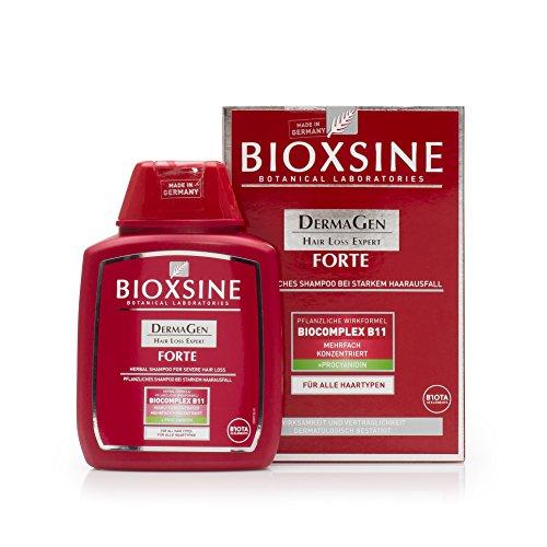 Bioxsine Forte pflanzliches Shampoo bei starkem Haarausfall - für Frauen und Männer, natürliches Haarwuchs-Mittel für alle Haartypen, Haarwachstum-Shampoo 300 ml – durch Studien bestätigt
