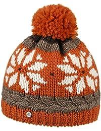 Lierys Snowflake Pudelmütze für Damen und Herren Skimütze Wintermütze Beanie mit Futter, mit Futter, mit Futter Herbst Winter