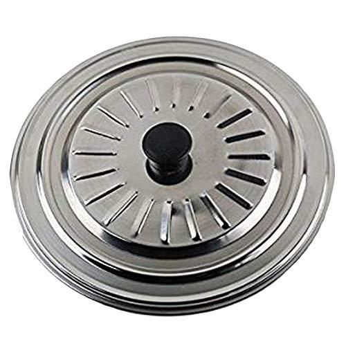 Del - coperchio universale per pentole e padelle - acciaio inox - 30 cm - argento
