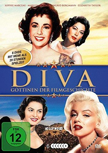 Diva - Göttinnen der Filmgeschichte (6 DVD Klassiker Box mit den schönsten Diven Hollywoods) (Ava Rose)