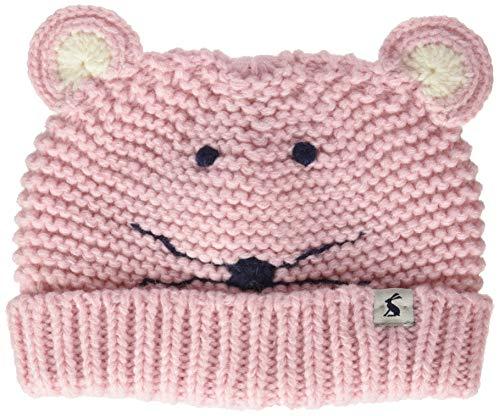 Joules Baby-Mädchen Chummy Hat Mütze, Pink (Pale Pink Mouse PLPNKMOUSE), L