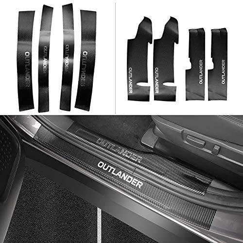 Preisvergleich Produktbild YYD Mitsubishi Outlander Einstiegsleisten,  Einstiegsleisten (8Stk.)