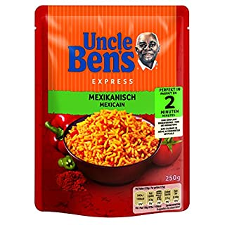 Uncle Ben's Express Reis Mexikanisch, 6er Pack (6 x 250 g)