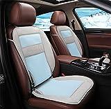 DIELIAN Bequeme Atmungsaktive Kühlung Autositzkissen 12V/24V,Blue,24V