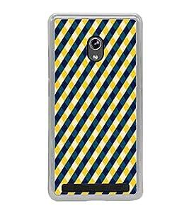 PrintVisa Designer Back Case Cover for Asus Zenfone 5 A501CG (Lines Diamond Strips Pattern)