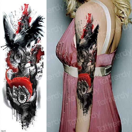 wierung wasserdicht Ärmel Arm weiblicher Mann Körper Kunst Mode 3pcs-22 ()