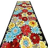 Tapis MeiHao Corridor Runner Carpet Corridor Aisle Carpet Mix Slip Jacquard Slip,...