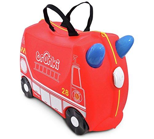 Trunki - Equipaje infantil rojo Red Size H31, W21, D46cm.