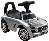 BSD Rutschauto Spielzeugauto Mercedes SLS AMG 332P Silver Paint / Silber Lauflernhilfe Lauflernwagen Kinderfahrzeuge