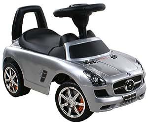Jouets ? tirer Trotteur Porteur Baby Car ARTI Mercedes SLS AMG 332P Silver Paint / Argent Ride-On Activity Toy