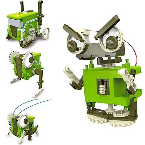 RC TECNIC Kit Robótica para niños Blocky 4 en 1 Robots para Montar | Juguetes Educativos Construcciones para Niños | Robotica Educativa Ciencia