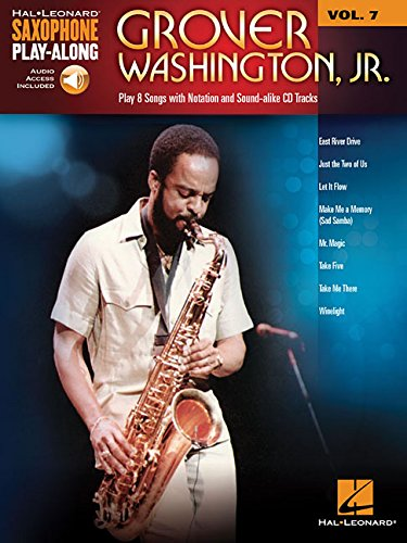 Grover washington, jr. saxophone+enregistrements online (Hal Leonard  Saxophone Play-Along)