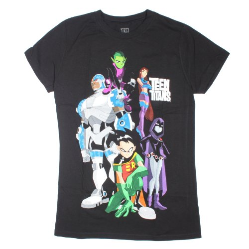 DC Comics T-Shirt für Teenager-Mädchen, Hartplastik