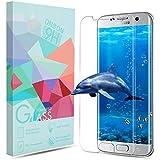 Samsung Galaxy S7 edge Panzerglas Schutzfolie, ONSON® Displayschutzfolie für Galaxy S7 edge Panzerfolie Displayschutz Gehärtetem Glass 9H Härtegrad, Anti-Kratzen, Einfaches Anbringen