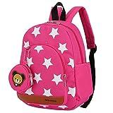 Enfants sac à dos, crèche sac à dos d'ge préscolaire sacs à bandoulière enfants livre sac à dos maternelle sac garçon fille sac à dos 3-7 ans