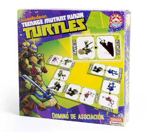 Teenage Mutant Ninja turtles. Domino von Asociacion Domino [Buch Importiert von (Spielzeug Teenage Turtles Mutant Videos Ninja)