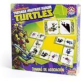 Nickelodeon - Tortugas Ninja, dominó de asociación (Dinova D0559001)