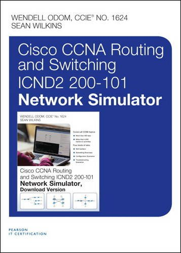 CCNA Routing and Switching ICND2 200-101 Network Simulator, Access Card por Wendell Odom