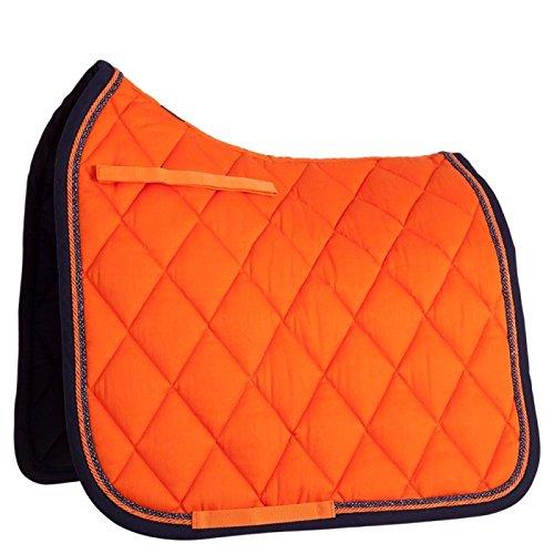 BR Schabracke Event Dressur Luxusbandbiese 400 g Füllung (Warmblut DR, Sunset Orange)