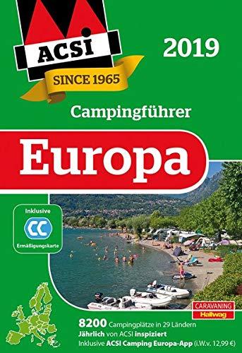 ACSI Internationaler Campingführer Europa 2019: in 2 Bänden (Hallwag Promobil)