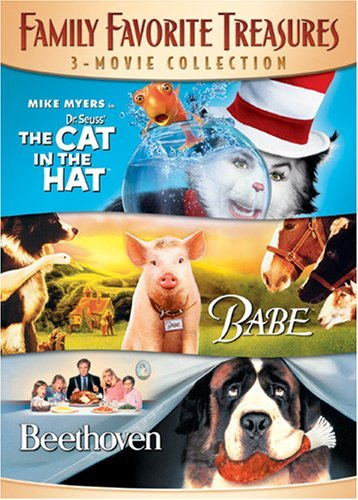 Family Favorite Treasures 3-Movie Collection (The Cat In The Hat / Babe / Beethoven) by James Cromwell Babe Hat