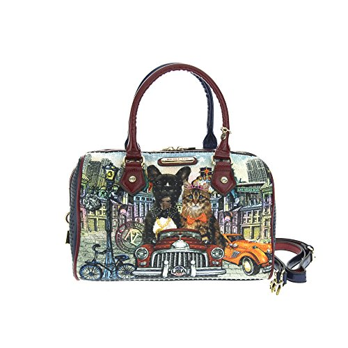 nicole-lee-city-drive-print-boston-bag