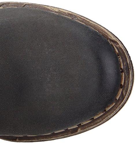 Rieker - Y9604, Stivali Donna Nero (Noir (schwarz/granit/grau / 00))