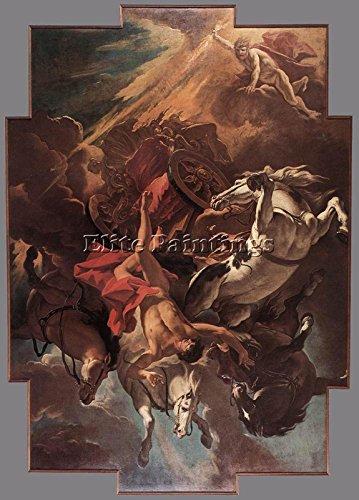 RICCI SEBASTIANO FALL OF PHAETON BILDER BILD OLGEMALDE MALEREI KUNST DEKO 100x70cm MUSEUMSQUALITÄT Ricci Kunst
