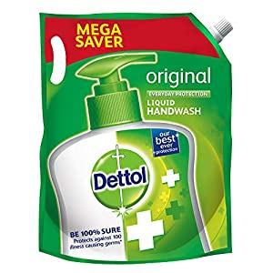 Dettol Original Germ Protection Handwash Liquid Soap Refill, 1500ml