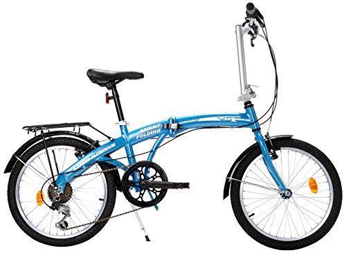 NEW STAR 130WS021 - BICICLETA PLEGABLE ALUMINIO SPRINT UNISEX