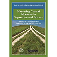 Mastering Crucial Moments in Separation and Divorce: A Multidisciplinary Guide to Excellence in Practice and Outcome