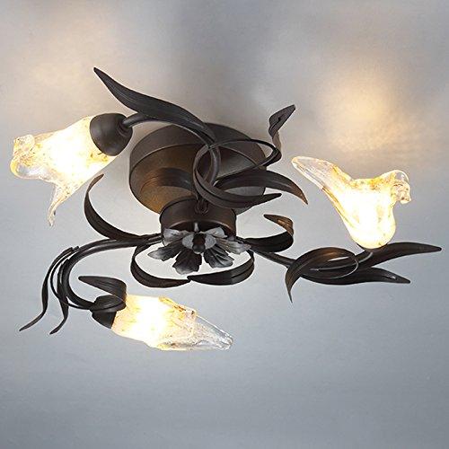 PLAFONIERA Lando Fiorentino stile floreale Lampada Lampada Soggiorno, Corridoio soffitto