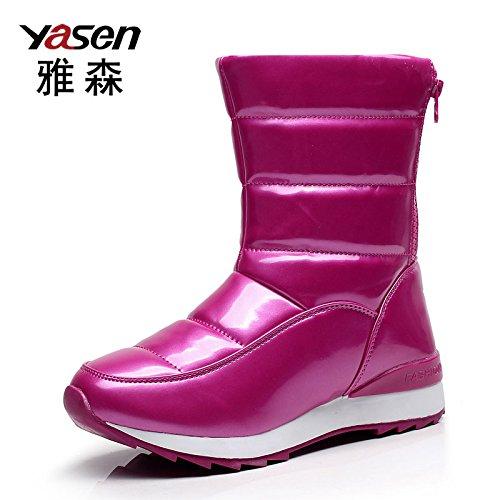 yjnb-tubo-in-inverno-neve-stivali-scarpe-stivali-donna-e-wool-waterproof-piatto-antiscivolo-scarpe-y