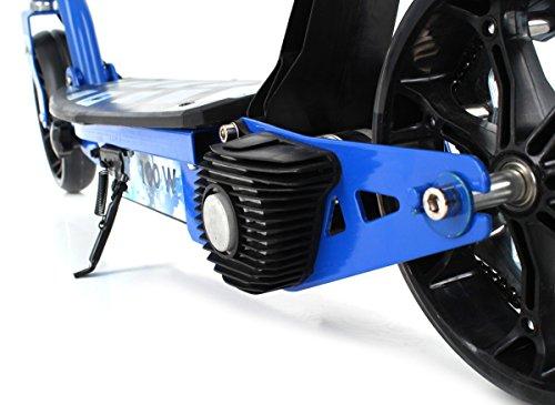 SXT100 Kinderelektroroller mit 100 Watt Elektromotor in zwei Farben (Blau)