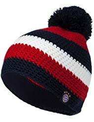 "FC Bayern München Kinder Mütze ""Stripes"" Kids Woolie"