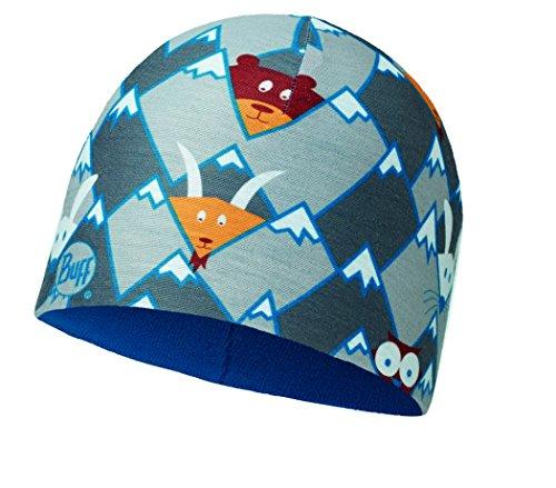 Buff Kinder Child Microfiber und Polar Hidding Grey Mütze, One Size (Polar-fleece-mütze Kinder)