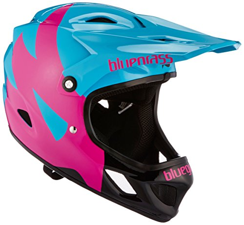 Bluegrass Explicit Helm, Cyan/Magenta/Black, 52-54 cm