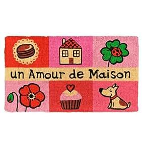 Derrière la Porte - Paillasson Un amour de maison rose Derrière la porte - Paillasson