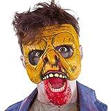 Zombies - Máscara media Zombie Attack, para adultos (Rubie's S3156)