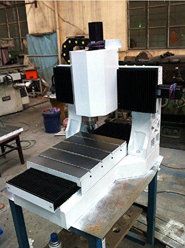 GOWE Mini CNC fresadora máquina fundición hierro