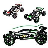 GYD 1:16 RC-Ferngesteuerte-Auto-Monster-Truck-Buggy-Spielzeug-Big-Wheeler Quad Desert Fury Off-Road RC Auto 25 km/std Hohe Geschwindigkeit Kinder Racing Auto Spielzeug für Kinder Kinder Geschenk