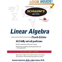 Schaum's Outline of Linear Algebra Fourth Edition (Schaums' Outline Series)