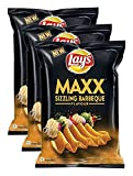 #2: Big Bazaar Combo - Lay's Maxx Sizzling Barbeque Flavour, 58g (Buy 2 Get 1, 3 Pieces) Promo Pack