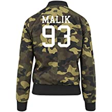 Malik 93 Bomber Giacca Girls Camuffare Certified Freak