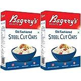 Bagrry's Steel Cut Oats, 500g Box (Pack of 2)