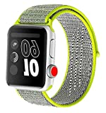 Naomo Compatibile Con Per Cinturino Watch 42mm/44mm,Watch Sport Band Strap,Cinturino di Ricambio per Series 4,Serie 3,Serie...