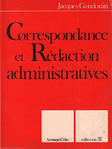 Correspondance et rédaction administratives (U. Communication)