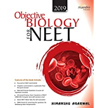 Wiley's Objective Biology for NEET, 2019ed